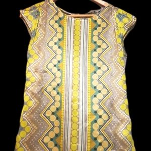 Mexx silk patterned short sleeved tee